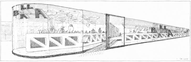 Luigi Rosselli Drawings